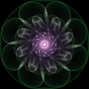 Fractal lotus 1
